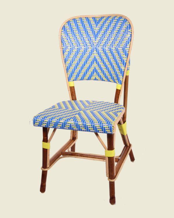 Chaise en rotin - Alesia - Maison Drucker
