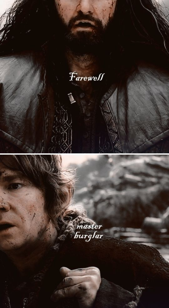 The Hobbit: the Battle of the Five Armies - Thorin's Death - Thorin and Bilbo