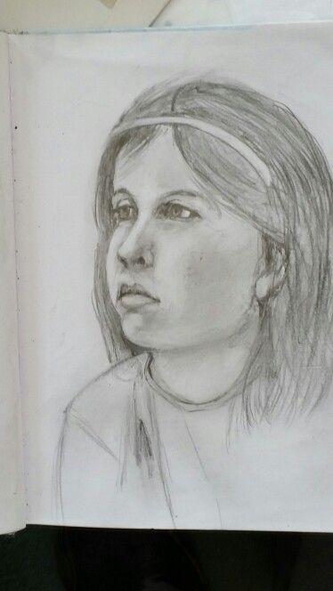 Caoimhe: Pencil sketch