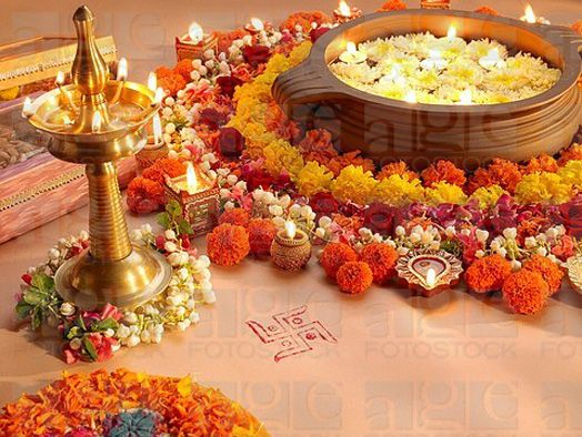 India Art N Design Indi Terrain: Diwali Decor A Must In South India