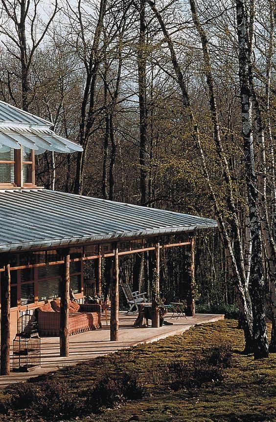 Starck + Maison en bois = 1ère maison de mes rêves. Un concept avant-gardiste génial vendu par correspondance. J'en rêve encore souvent de cette maison. ❤️: