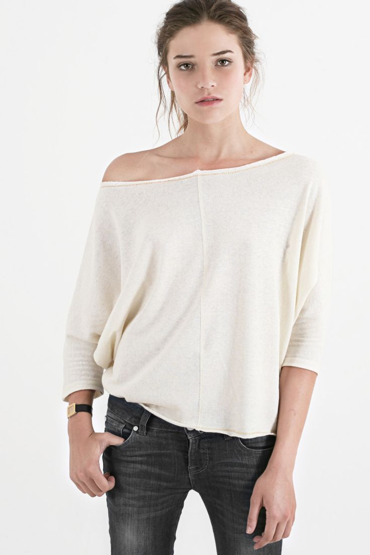 Sitting Pretty | Shop | AW15 | Organic | Mist knit top