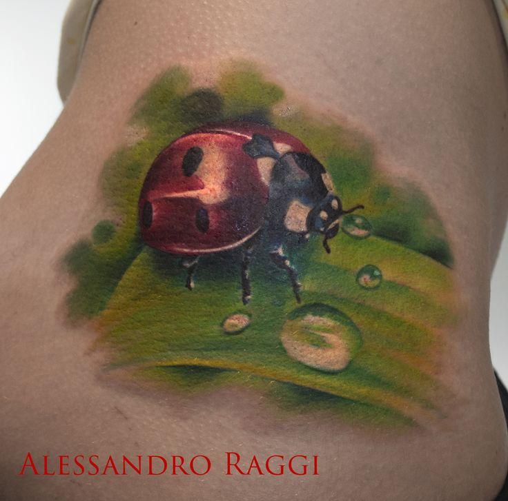 Ladybug, realistic, 3D by Alessandro Raggi
