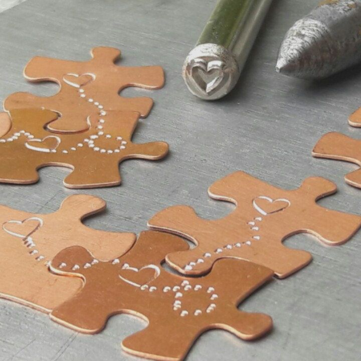 Working progress...for new puzzle necklaces.