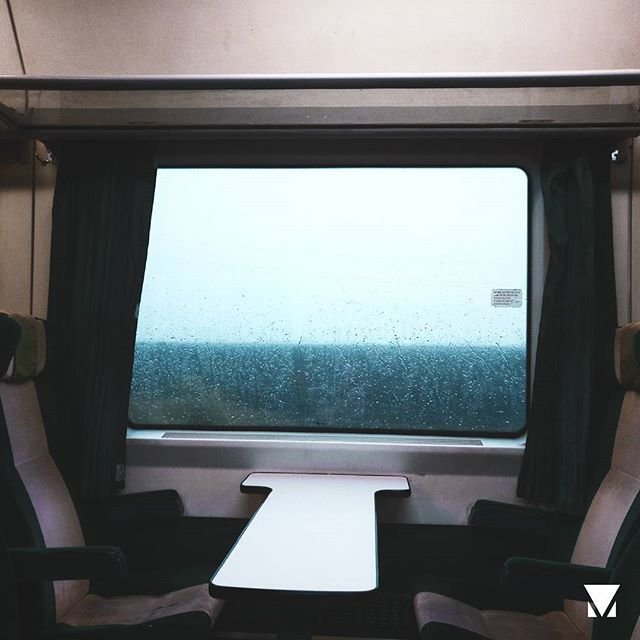 no_one ___ #photography #photo #nature #light #window #glass #rain #paint #lonely #tumblr #train