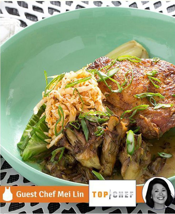 She's done it again! This recipe comes to you from Top Chef season 12 winner Mei Lin.