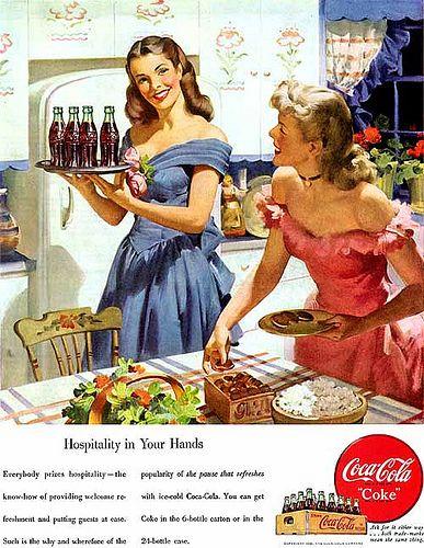 sundblom_coke Ad by sweet_bettie67, via Flickr