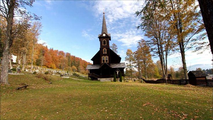 Tatranská Javorina, Slovakia. Short film - 38 seconds
