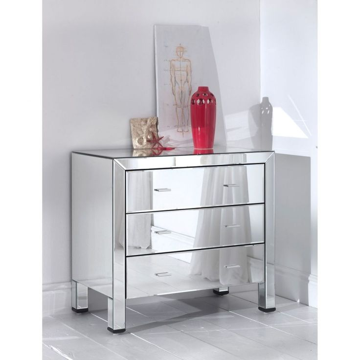 Efficient Home Mirrored Side Table Target