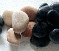 Batu Koral Sikat dari Semen