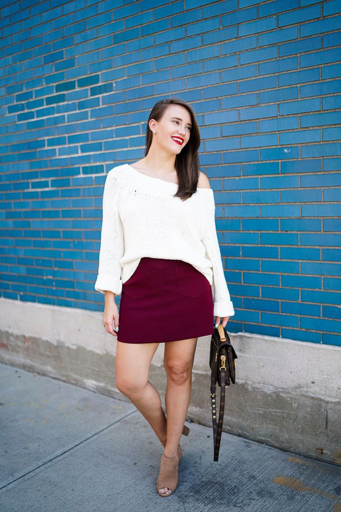 Lush A-Line Miniskirt | Covering the Bases | Fashion and Travel Blog New York City