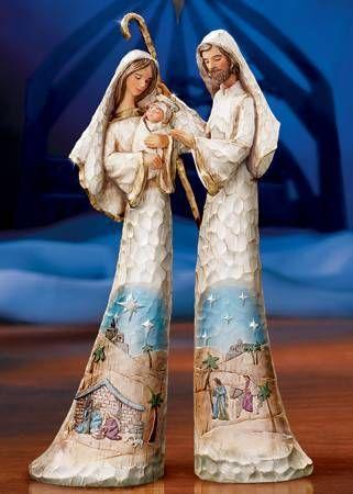 2009 THOMAS KINKADE HOLY FAMILY NATIVITY SET