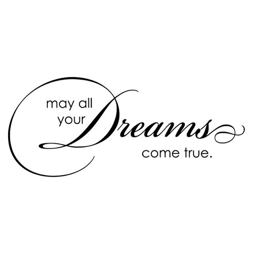 Penny Black MAY ALL YOUR DREAMS COME TRUE Tilda Magnolia Mounted Rubber Stamp