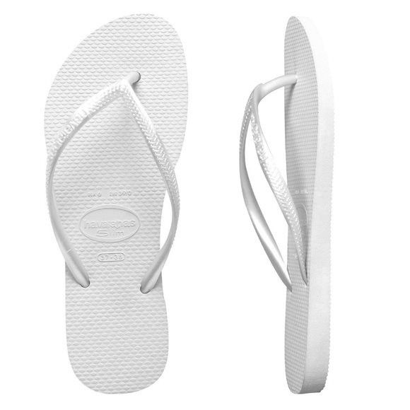 Havaianas - Slim Metallic White Female