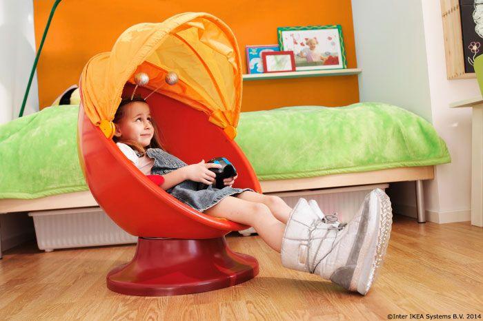 Hai să ne jucăm de-a v-ați ascunselea :) IKEA PS LÖMSK Fotoliu rotativ 299 lei