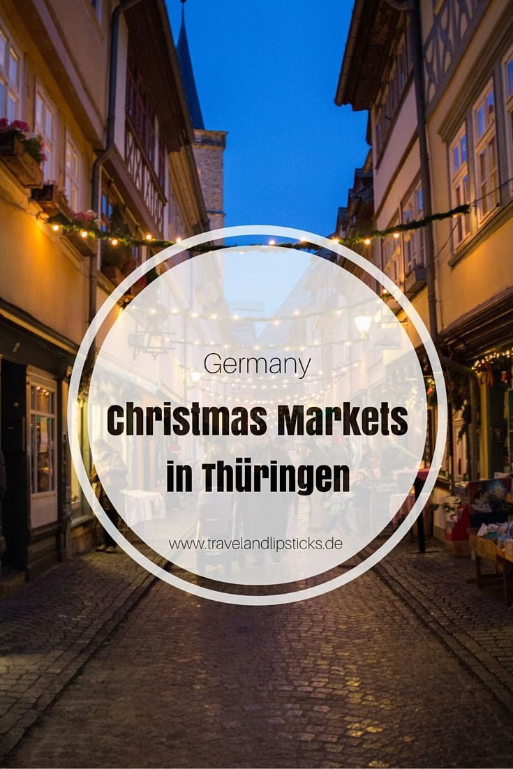 Thüringen ist in vielen Bereichen die Geburtsstätte des Weihnachtsfestes.  Hier entstanden über die Jahre Traditionen, Bräuche und sogar Christbaumschmuck.  Ein Besuch des Erfurter, Weimarer und Wartburger Weihnachtsmarktes ist also auch eine Reise in die Vergangenheit des Weihnachtsfestes.
