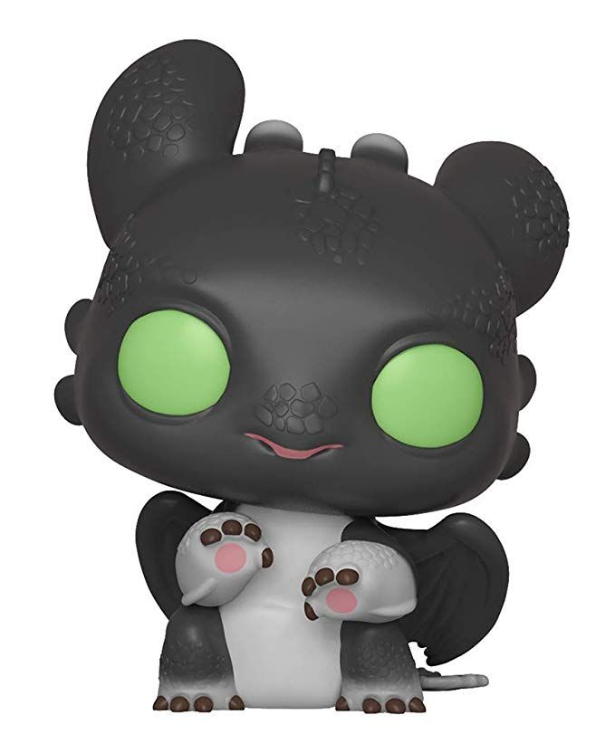 Night Lights 1 Vinyl Figure Funko Pop How to Train Your Dragon 3 Movies