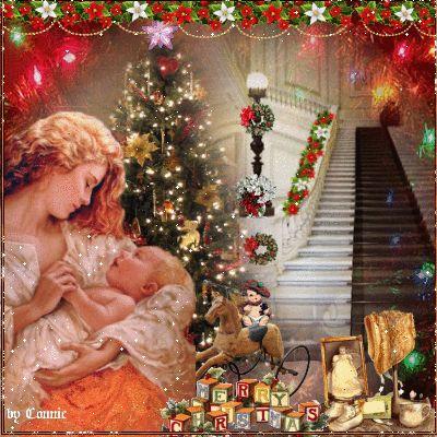 Vintage Christmas Baby Joyful226