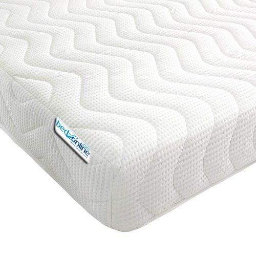 #5: Bedzonline Memory Foam and Reflex 3 Zone Mattress with 1 Fibre Pillows Micro Quilted cool flex Cover Single  3 ft  90 x 190 cm This is among the top selling products online in Kitchen  category in UK. Click below to see its Availability and Price in YOUR country.