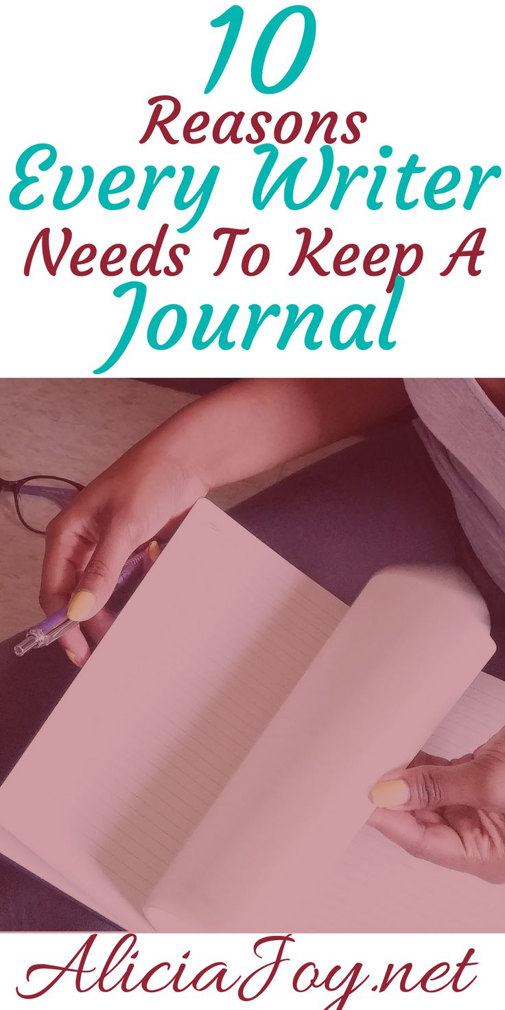 These really make sense!!! If you're a writer or a blogger, keeping a journal for these reasons are a must...