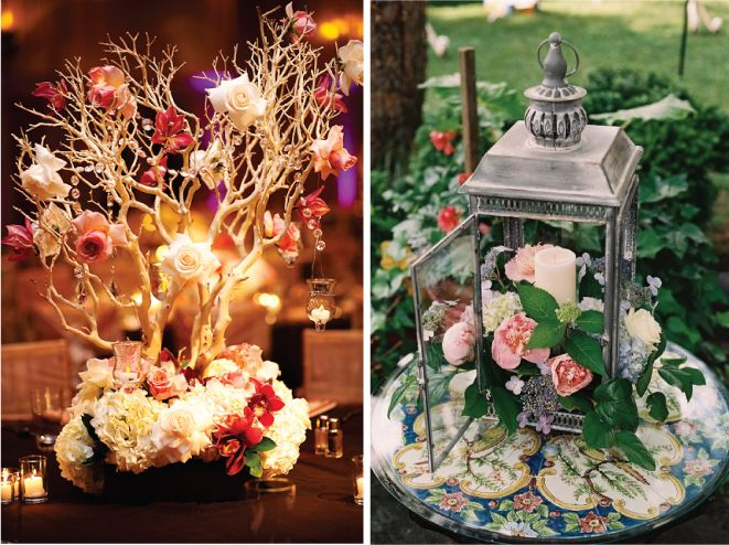 200 best garden style wedding decor glam and traditional images on 25 stunning wedding centerpieces part 10 junglespirit Choice Image