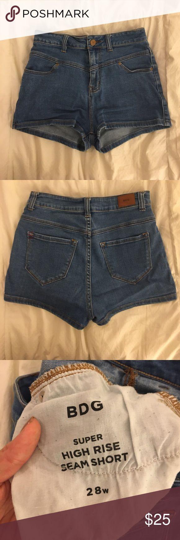 BDG high-rise jean short BDG high-rise seam short BDG Shorts Jean Shorts