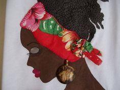 utilisima cuadros africanos con aplicaciones en tela - Buscar con Google