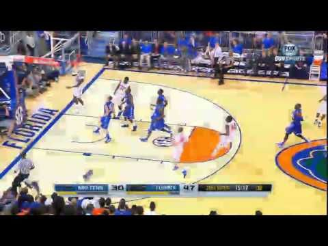 ▶ 11/21/2013 Middle Tennessee State vs Florida Basketball Highlights - YouTube. Watch out for Young and Frasier.