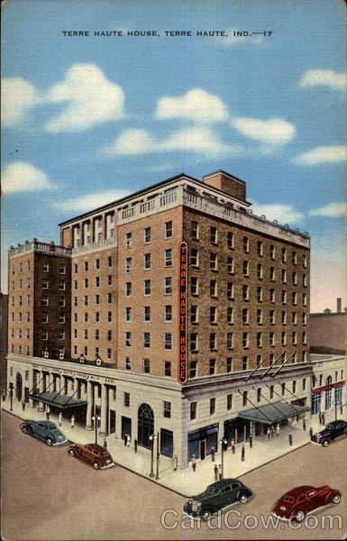 This Is Now The Site Of Hilton Garden Inn Which Has Named Its Meeting Rooms After Banquet Halls In Old Terre Haute House