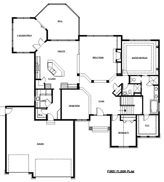 1000 images about rambler plans on pinterest 3 car for Rambler house plans with 3 car garage