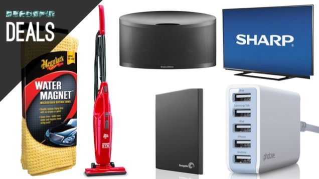 Deadspin Deals: The Best Car-Drying Towel, Cheap TVs, $15 Vacuum, and More Deals