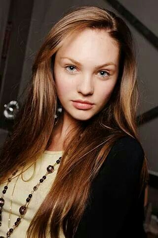 A young Candice Swanepoel
