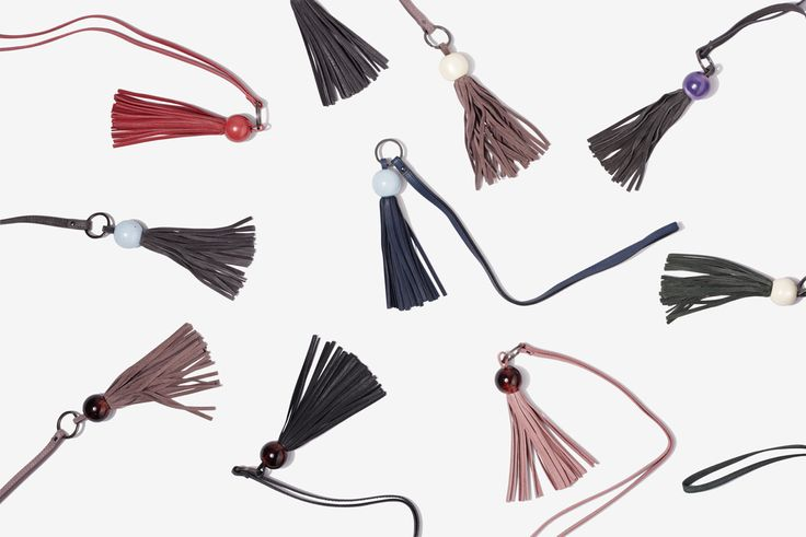 Yvonne Koné_Limited edition tassel key holders