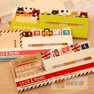 New kawaii animal series sticky note, Memo pads ,Memo sticker,Lovely stationery (SS 4918)-in Memo Pads from Office  School Supplies on Aliexpress.com $24.26