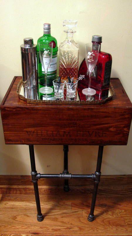 1000 images about wine crates and barrels on pinterest wine crate table wine barrel. Black Bedroom Furniture Sets. Home Design Ideas