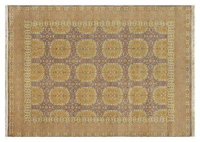 Clearance SALE New Handmade Carpet 8' x 10' Traditional Rug for Livingroom