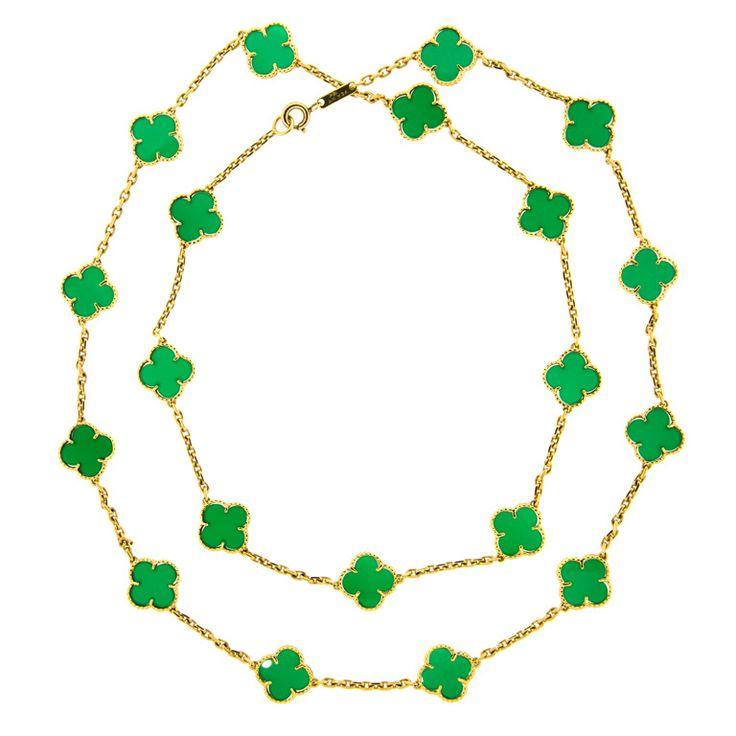 Clover Necklace Van Cleef: 69 Best Images About Van Cleef & Arpel Alhambra On