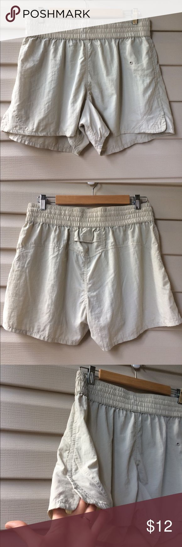 Fishing Shorts Women's lightweight fishing/outdoor shorts with drawstring and small side slit for maneuverability. This shorts very comfortable and dry very quickly! There is a small pocket on the back of the shorts as well as a hidden pocket on the inside World Wide Sportsman Shorts