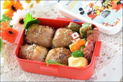 宮崎グルメ♡お弁当にぴったりの『肉巻きおにぎり』レシピ - NAVER まとめ