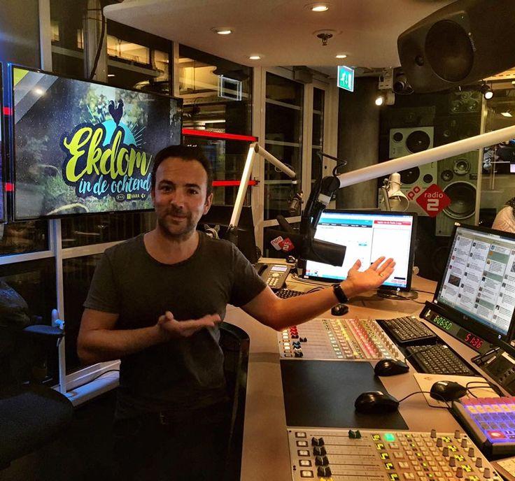 Uw DJ is back at the NPO Radio 2 headquarters! Ekdom in de ochtend a gogo!