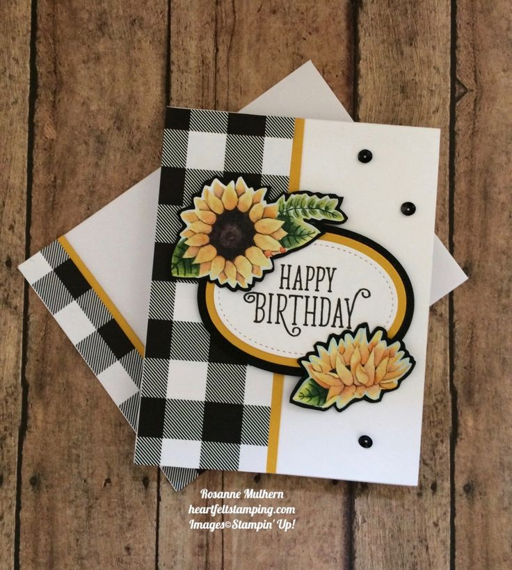 Stampin Up Painted Autumn Designer Series Paper and Happy Birthday Gorgeous Birthday Card Idea- Rosanne Mulhern