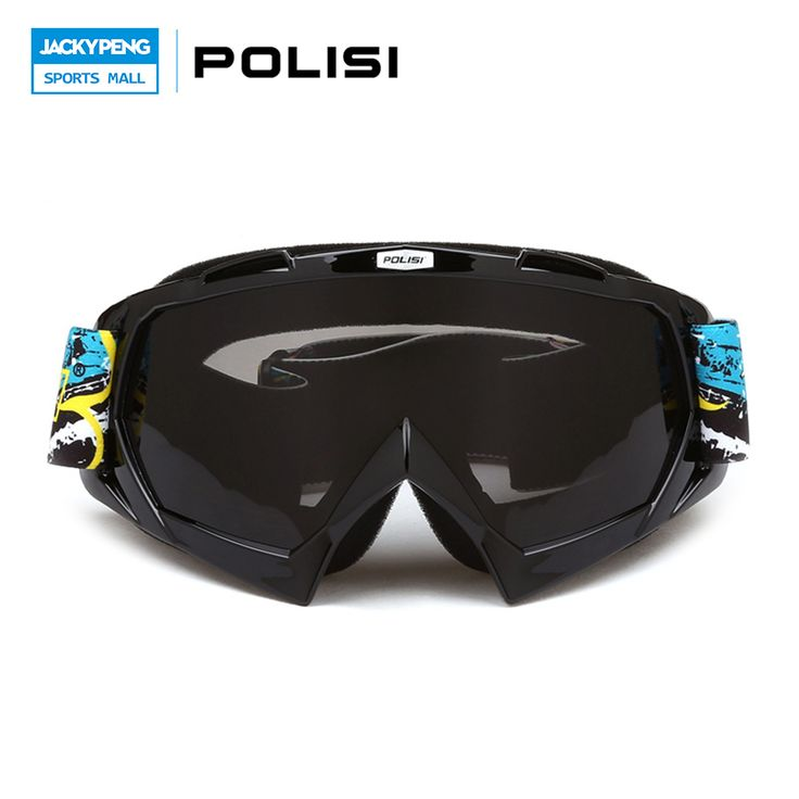POLISI Motorcycle Motocross Goggles Gafas Ski Skiing Glasses Snow Snowboarding Goggles Winter Outdoor Protective Eyewear