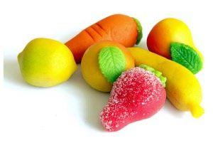Marsepein: typical Dutch candy made of sugar eaten at Sinterklaas.