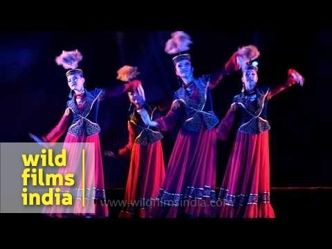 'Gakku' Dance Trope of Kazakhstan performs in India