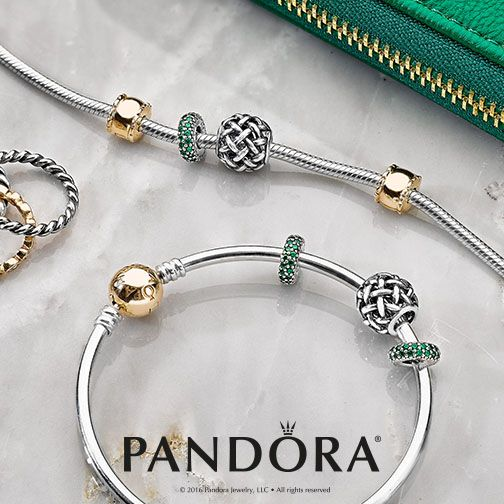This season, the mixed metal #PANDORAstyle is most wanted. Combine sterling silver and 14k gold for an effortlessly stylish look.