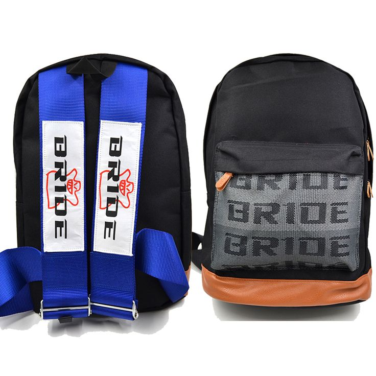 JDM Bride Fabric Backpack With Seat Belt Harness Bag Drift Race School Domo Racing Bag on Aliexpress.com | Alibaba Group