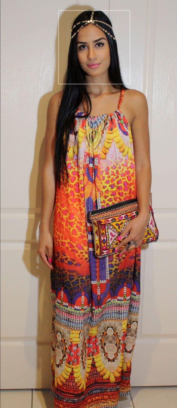 www.kaftanallure.com Designer look draw string dress with added Swarovski crystals