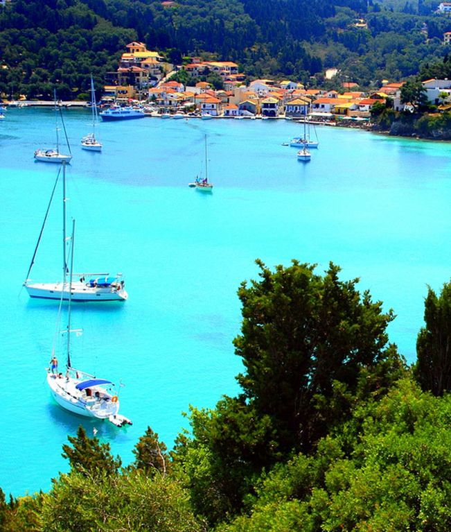 Paxoi Island, Greece #greeksummer #greekislands #greece #vacations #beach #scenery More at corfu2travel.com/...