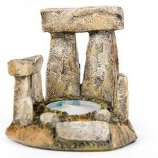 Stone Circle Tealight Candle Holder Each Stone Circle tealight holder is made from resin and finished in realistic colours.  Inspired by ancient stone circles like Stonehange.  Packaged in a decorative gift box.  Height 8cm, Width 8cm.  Tealight not included. - See more at: http://mad-about-gifts.com/light-scent/tealight-candle-holders/stone-circle-tealight-candle-holder#sthash.eMsZ7r4u.dpuf