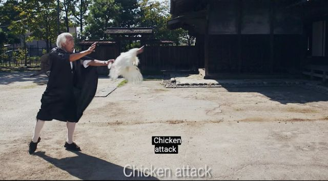 This 'Chicken Attack' Song Is The New 'PPAP'   There's a new tune on the Internet and Malaysians are absolutely obsessed with it. Introducing: 'Chicken Attack'.  Image viaThe Gregory Brothers  'Chicken Attack' is all about a mysterious caped benefactor who carries around a transforming ninja-chicken with him  Image viaThe Gregory Brothers  It sure is a little peculiar but we'll have to agree that it's entertaining and highly infectious  Image viaThe Gregory Brothers  The 'Chicken Attack'…